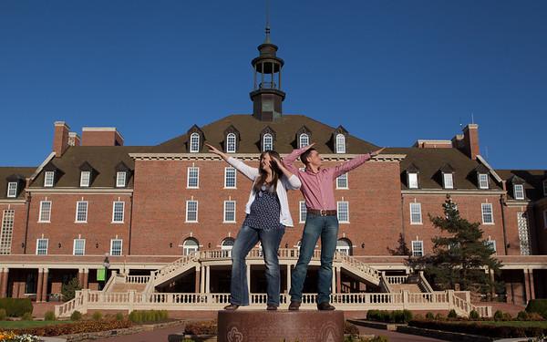 Emily & Andrew OSU
