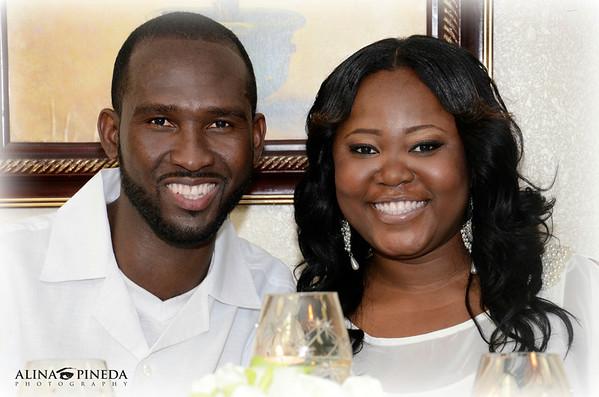 BRIDAL SHOWER: CHILANDE & PIERRE : SEPTEMBER 2012