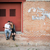 Tucson Wedding Photographer Downtown Tucson Train Engagement Session. To schedule your wedding or engagement consult, contact Amanda Bynum at (520)444-0997, photo@amandabynum.com