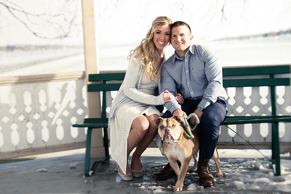 Lisa and Adam/ Engagement session