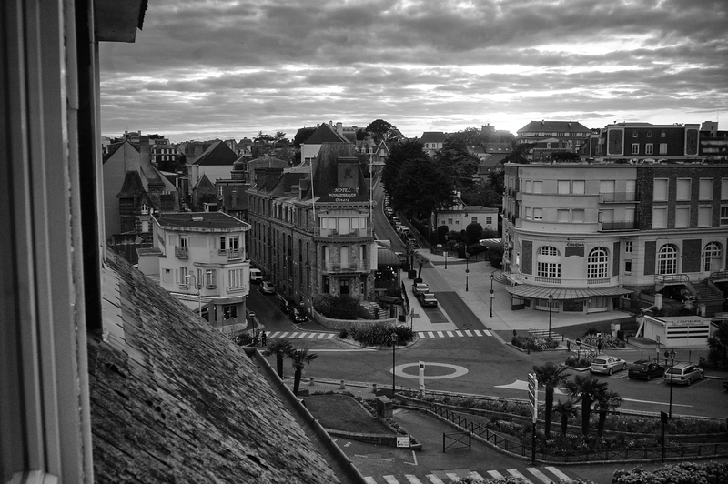 From Hotel Window At Dusk - Dinard, France (May 2015)