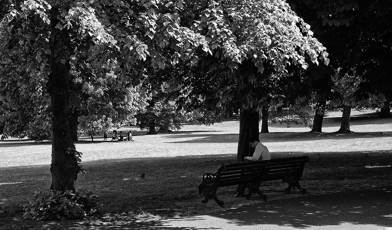 Park Reader - Greenwich, London (May 2015)