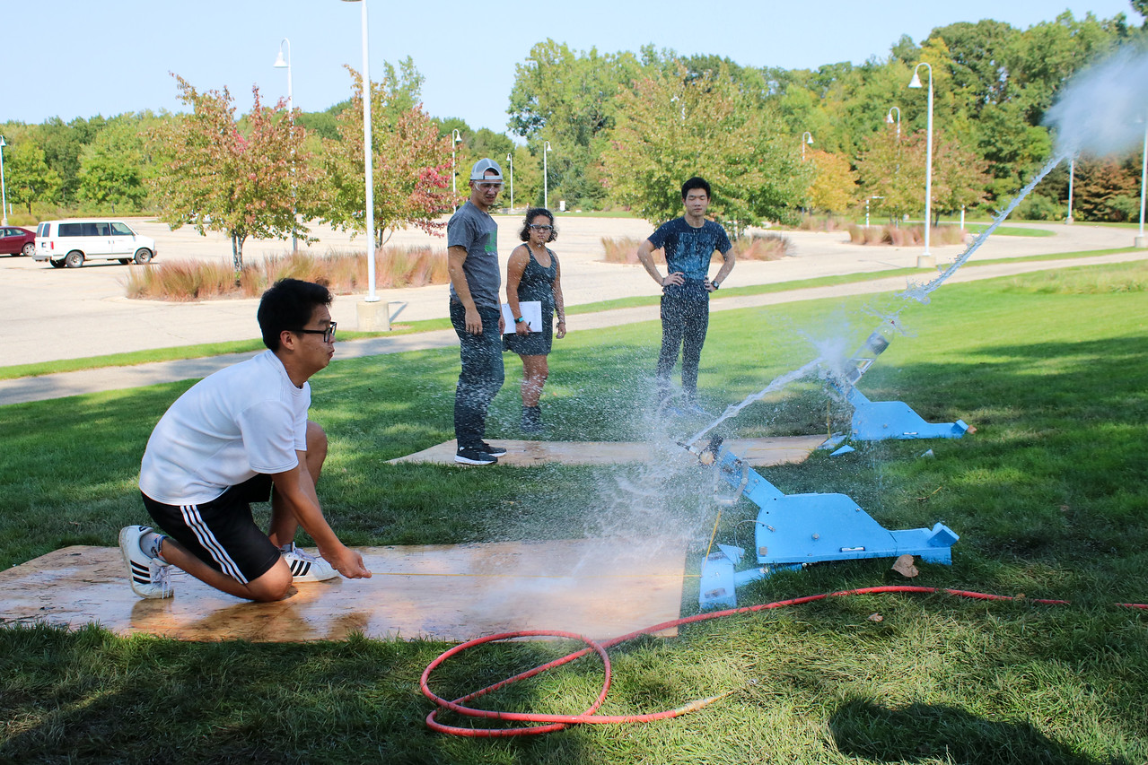 ENGR 101 Bottle Rocket Launch