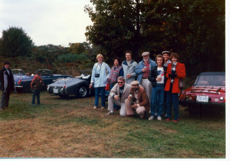 L to R: Carol Moore, ??, ??, ??, Chuck Linick, Mike Mayne, Paula Kopin, Kevin Berichon, Marshall Moore