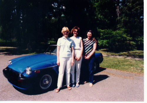 From left to right: Carol Moore #82-22, Paula Kopin Member # 81-18, and Sue Peck