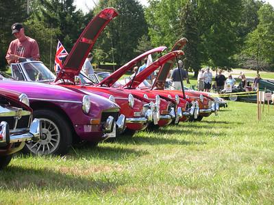 British Car Day XXII Ursuline 1 Aug 2008