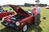 ENMGR member Mike Scocus was awarded a Second Place ribbon for his 77 MG Midget.