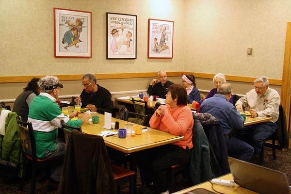Breakfast Meeting 21 Jan 2012