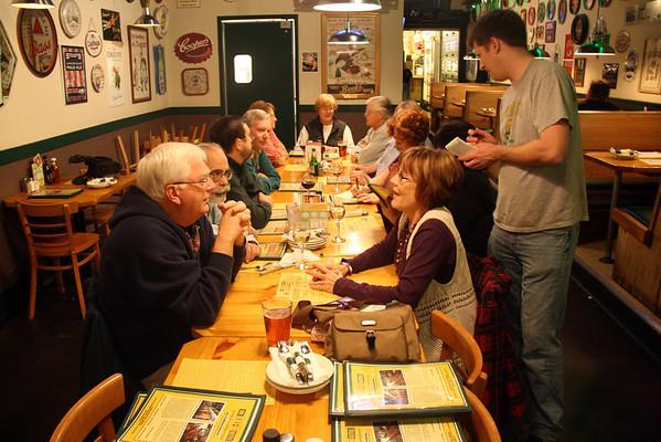 Monthly Dinner 5 Nov 2012