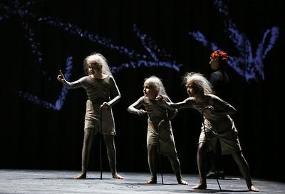 ENO The Magic Flute 2019, Guillermo Fernandez-Aguayo Martin, Richard Wolfson and Nao Fukui, © Donald Cooper