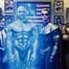 JEFFREY DEAN MORGAN as  The Comedian, MALIN AKERMAN as Silk Spectre II, BILLY C