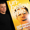 **CORRECTS DAY** Actor Matt Damon participates in a press conference for the film 'The Informant' during the Toronto International Film Festival on Friday, Sept. 11, 2009 in Toronto. (AP Photo/Evan Agostini)