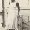 Creator: Walker Evans (American, 1903 - 1975) Title/Date: [Woman in a Courtyard], 1933 Culture: American Medium: Gelatin silver print  Credit: The J. Paul Getty Museum, Los Angeles