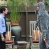 """Elijah Wood, left, and Jason Gann in a scene from the FX comedy """"Wilfred."""""""
