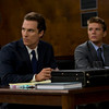Mick Haller (Matthew McConaughey, left) and Louis Roulet (Ryan Phillippe, right) in THE LINCOLN LAWYER.