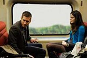 """Jake Gyllenhaal and Michelle Monaghan in """"Source Code."""""""