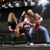 Night Ranger guitarists Joey Hoekstra, left, and Brad Gillis on Saturday, July 23, 2011, at the Verizon Wireless Amphitheatre in Irvine. (Jennifer Hudson/Special to the Daily News)