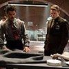 "Dominic Cooper, left, and Chris Evans in ""Captain America: The First Avenger"""
