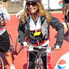 Maria Shriver is ready to ride at the Best Buddies event.