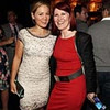 WEST HOLLYWOOD, CA - SEPTEMBER 16:  Actresses Erika Christensen and Kate Flannery at BOA Steakhouse on September 16, 2011 in West Hollywood, California.  (Photo by Christopher Polk/Getty Images For Entertainment Weekly)