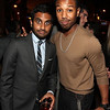 WEST HOLLYWOOD, CA - SEPTEMBER 16:  Actors Aziz Ansari and Michael B. Jordan attend The 2011 Entertainment Weekly And Women In Film Pre-Emmy Party Sponsored By L'Oreal at BOA Steakhouse on September 16, 2011 in West Hollywood, California.  (Photo by Christopher Polk/Getty Images For Entertainment Weekly)