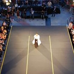 The view from above at Quebec in Hollywood's opera-fashion event.