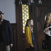 "In this image released by FX, from left, Dylan McDermott, Taissa Farmiga and Connie Britton are shown in a scene from the ""American Horror Story,"" premiering Wednesday, Oct. 5, 2011 at 10 p.m. EDT. (AP Photo/FX, Robert Zuckerman)"