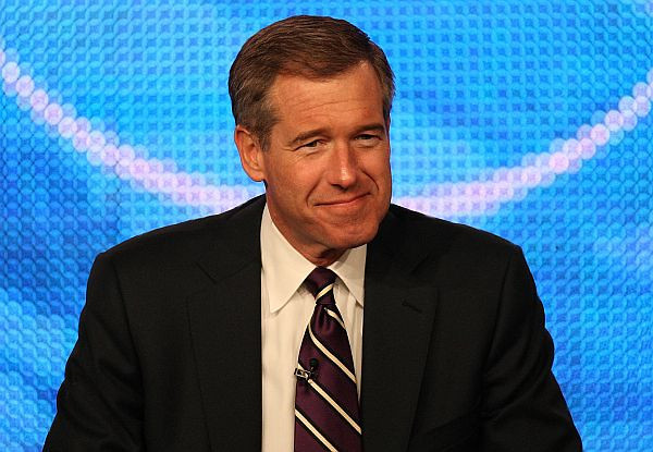 PASADENA, CA - JANUARY 10:  NBC Nightly News anchor Brian Williams speaks onstage at the NBC Universal 'NBC News' Q&A portion of the 2010 Winter TCA Tour day 2 at the Langham Hotel on January 10, 2010 in Pasadena, California.  (Photo by Frederick M. Brown/Getty Images) *** Local Caption *** Brian Williams