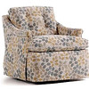 This chair is part of the swivel glider and rocker collection from Jessica Charles.