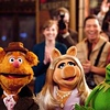 """THE MUPPETS""    LOOK AT US! HERE WE ARE Ð Right where they belong, FOZZIE BEAR, MISS PIGGY and KERMIT THE FROG come together to show the world that the Muppets still know how to sing and dance and making people happy! And thatÕs a dream that gets better the more people you share it with!    Ph: Scott Garfield    ©Disney Enterprises, Inc. All Rights Reserved."