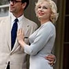 "Dougray Scott, left, and Michelle Williams, right, star in ""My Week with Marilyn."""