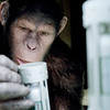 "A WETA Digital CG character, Caesar is smarter than the average simian in ""Rise of the Planet of the Apes."""
