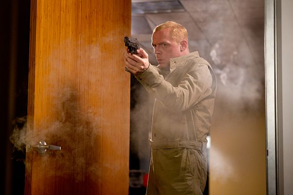 "Simon Pegg in ""Mission: Impossible: Ghost Protocol"""