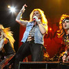 The San Fernando Valley's own Steel Panther, above, opened the show for Guns N'