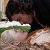 Holliday Grainger as Lucrezia Borgia and Francois Arnaud as Cesare Borgia in  T