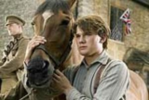 Albert (Jeremy Irvine) and his horse Joey are featured in this scene from Dream