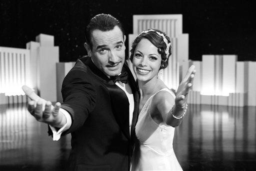 En esta imagen promocional difundida por The Weinstein Company, Jean Dujardin i