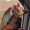 Jar Jar Binks introduced in  Star Wars:  Episode I   The Phantom Menace,  is a
