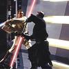Obi-Wan Kenobi (Ewan McGregor, left) and Darth Maul (Ray Park) wage a fierce li