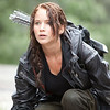 In this image released by Lionsgate, Jennifer Lawrence portrays Katniss Everdee
