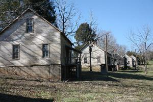 This undated image provided by VisitNC.com shows the abandoned Henry River Mill