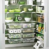 Elfa walk-in pantry from The Container Store.