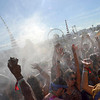 4-14-12(Daily Breeze Photo by Douglas Morino Staff Reporter) Fans cool off at C