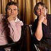 Jack Black, left, has the title role as a Texas mortician convicted of murder i