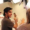 Director Zal Batmanglij on the set of  Sound of My Voice.  He co-wrote the movi