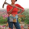 "Tara Kolla practices the ""slow flower"" method of growing blooms at Silver Lake"