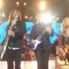 Ricky Phillips, left, James Young and Tommy Shaw of Styx perform Sunday, May 6,