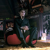 In this film image released by Warner Bros., Johnny Depp portrays Barnabas Coll