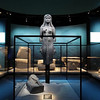 """A Graeco-Egyptian statue, part of the exhibit """"Cleopatra: The Search for the La"""
