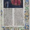 """""""The Beast Acheron,"""" 1475, by Simon Marmion  Photo courtesy of The J. Paul Gett"""
